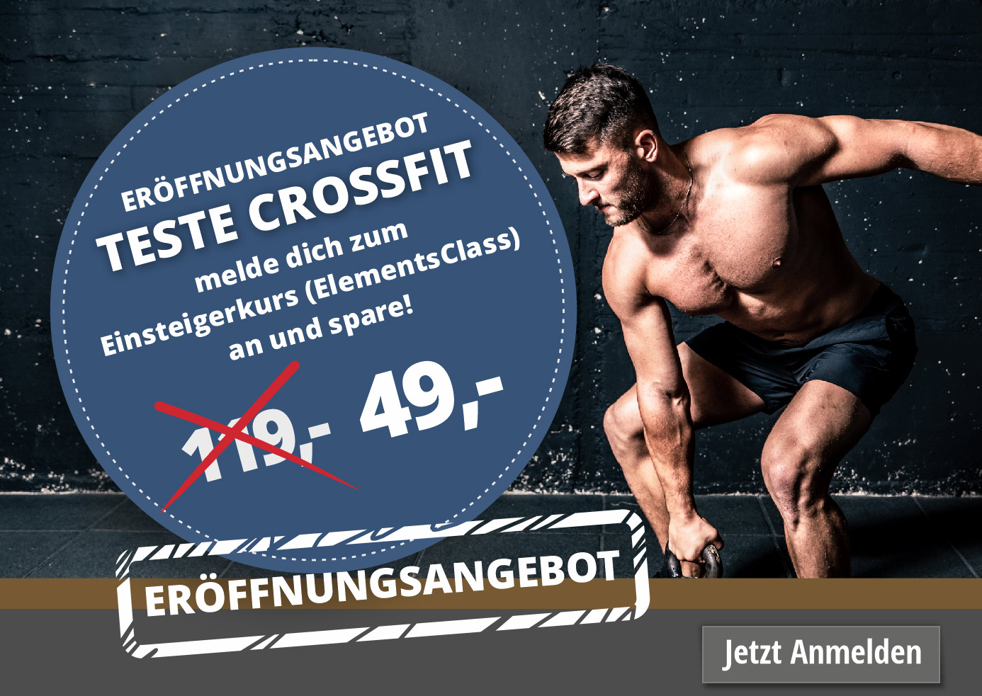 Eröffnungsangebot Crossfit Elements Class